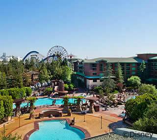 CAディズニー直営ホテルに泊まるプラン