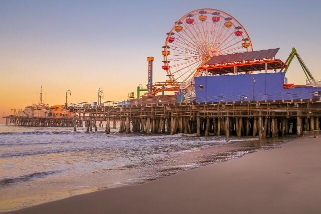 【成田・羽田発】遊園地や水族館、ビーチまですぐ!おしゃれタウン「サンタモニカ」に泊まる!