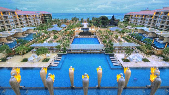 バリ島旅行で最高峰のホテルに泊まるならここ!6つ星リゾート「ムリア」を徹底解明!