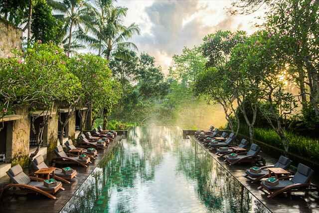 【一度の旅行で2度楽しめる】「緑豊かなウブドエリア宿泊」&「やっぱりかかせないビーチエリア宿泊」の欲張りツアー