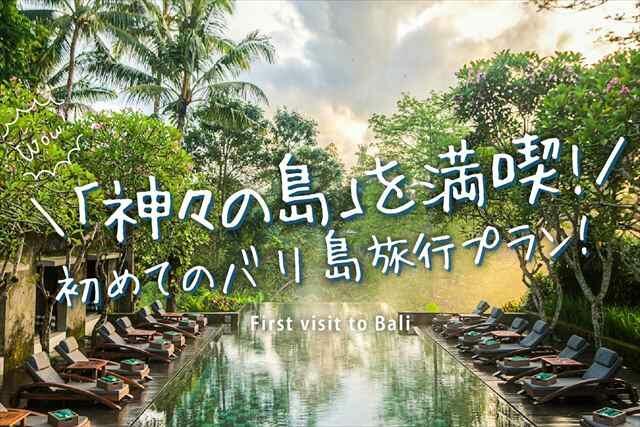 \「神々の島」を満喫!初めてのバリ島旅行プラン/...バリ島のいい所どりプランです♪