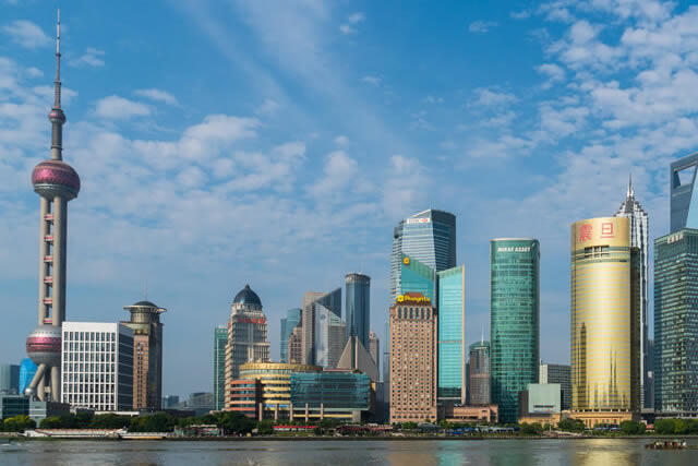 【4~9月】安心の日系航空会社JAL(日本航空)で上海へ!自由度MAX!上海フリープラン!
