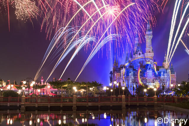 【8~3月】嬉しいディズニーチケットと一部片道送迎付きプラン!全日空で上海へ!