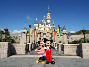 アジアの2つのディズニーへ行こう!上海ディズニー&香港ディズニー周遊プラン 各ディズニーチケット付♪