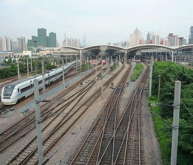 上海駅エリア