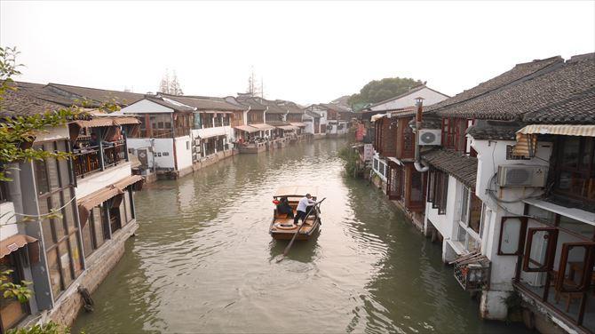 上海からタクシーで1時間!レトロな水郷の街「朱家角」をご紹介!