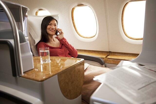 【憧れシートをお試しプラン】帰り便だけビジネスクラス♪フルフラットの極上シートをオトク価格でお試しあれ!