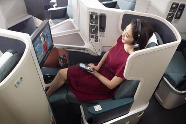 《憧れのビジネスクラス》キャセイパシフィック航空利用でオトクに体験♪お座席指定&ラウンジ利用ももちろんOK!