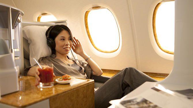 【搭乗体験記】憧れ2階建てA380!エミレーツ航空ビジネスクラスに乗ってみた!