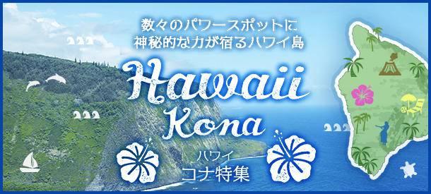 ハワイ・コナ特集!