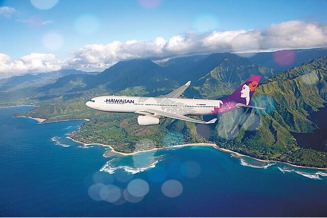 \ハワイアン航空で行くハワイ/機内からアロハスピリット溢れるおもてなしでハワイ気分を満喫♪