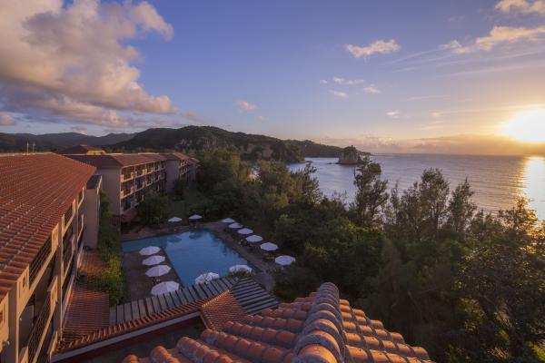 「ホテルニラカナイ西表島」JALのファーストクラスとコラボメニュー