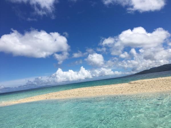 絶景の沖縄でドラマロケ