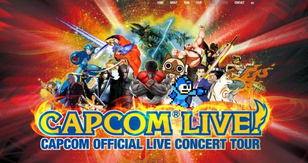 CAPCOMのゲーム音楽をライブで