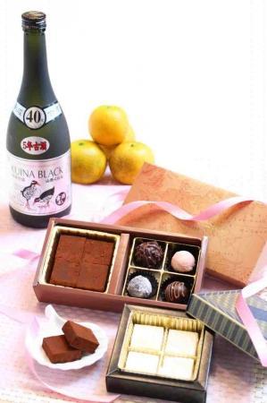 大人味のバレンタインチョコレート
