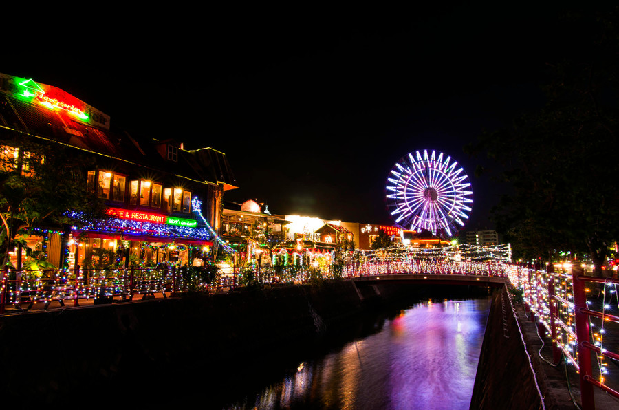 美浜アメリカンビレッジ】クリスマスイルミネーション|沖縄旅行・沖縄ツアー|格安国内ツアー・激安国内旅行のしろくまツアー