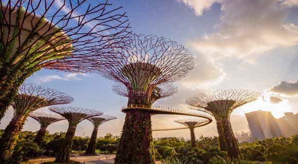 ≪大阪発≫9月までのご予約可能!シンガポール航空利用の完全フリープラン♪