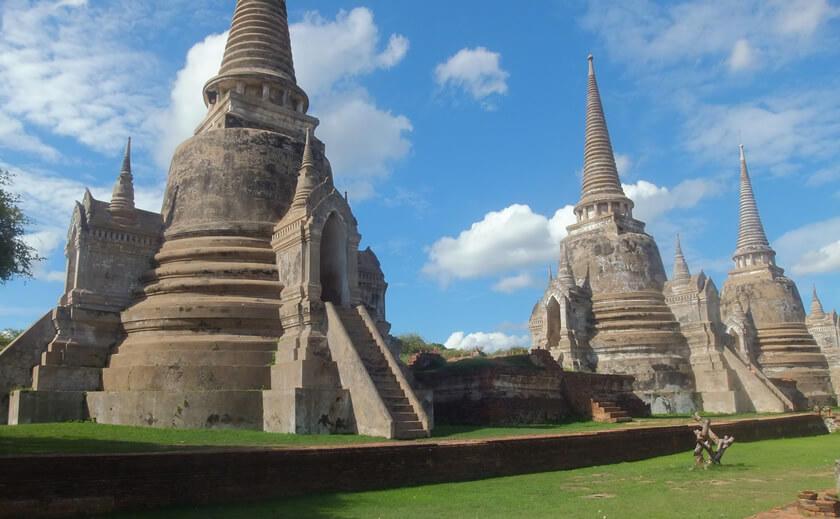 タイ・バンコク世界遺産アユタヤ観光ツアー<br>4名様以上のお申込みでお1人様1,000円引き!