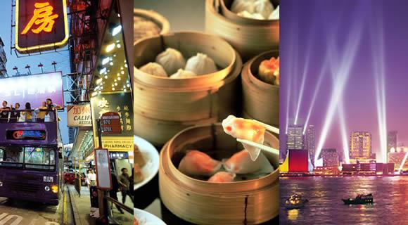 香港をぎゅっと詰め込んだ【丸ごと】香港観光プラン!