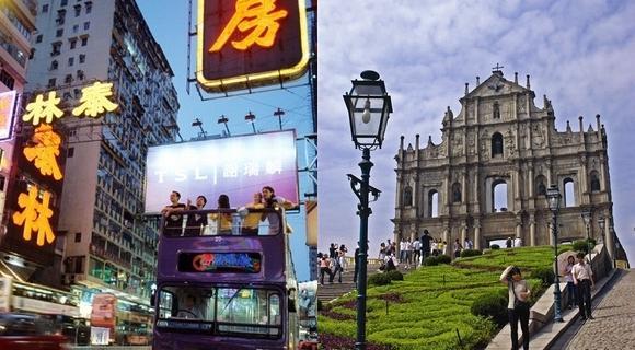 【香港マカオ2都市周遊キャンペーン】香港2泊+マカオ1泊の4日間 香港泊は6月オープンの最新ホテルにご宿泊♪