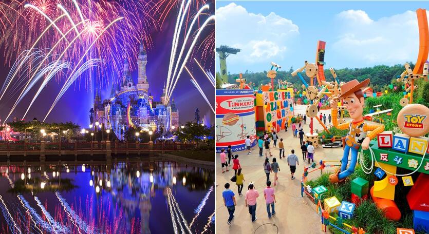 2つのディズニーを一度に堪能Wディズニーツアー♪上海と香港のディズニーランドへGOGO!