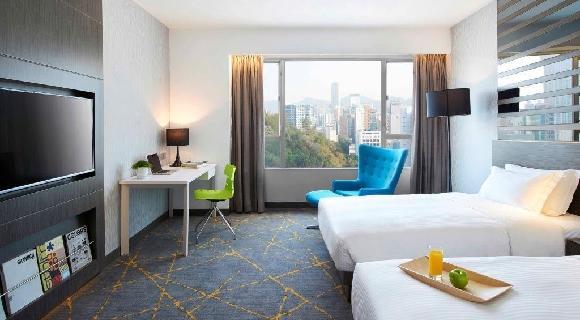 【秋の香港プチ贅沢プラン】人気のシティービューホテルでワンランク上の『プレミアルーム』に泊まる♪キャセイパシフィック航空で行く香港旅行