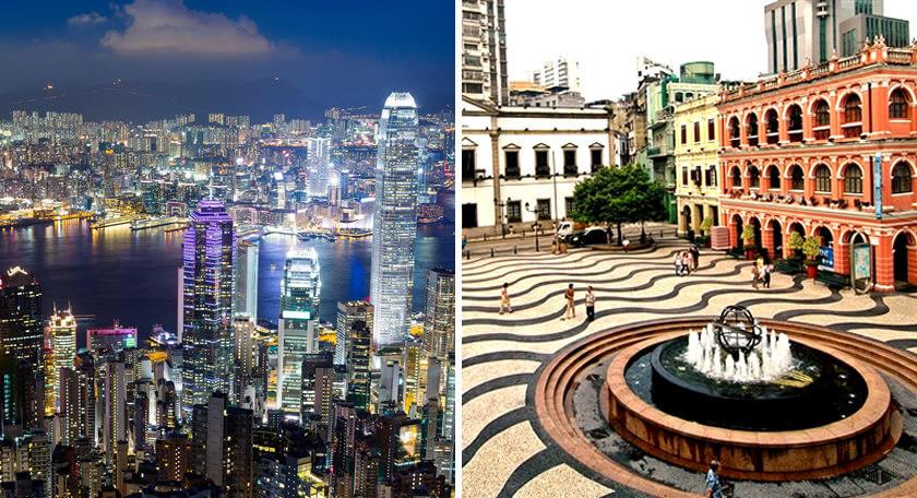 2度オイシイ!欲張り香港マカオ周遊・満喫プラン4日間! 充実観光&食事2回付き♪