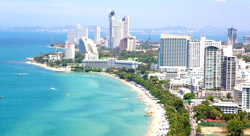 バンコクからスグ!タイのビーチリゾート「パタヤ」ラン島日帰り観光付プラン!