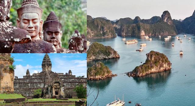 学生時代に見ておきたい、世界遺産「アンコールワット」&「ハロン湾」観光付の王道ツアー