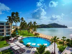 パンワビーチに位置するホテル専用ビーチが人気のホテル<br>【クラウン プラザ プーケット パンワ ビーチ リゾート 】