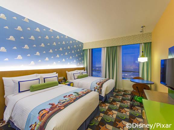 上海ディズニー直営ホテル滞在