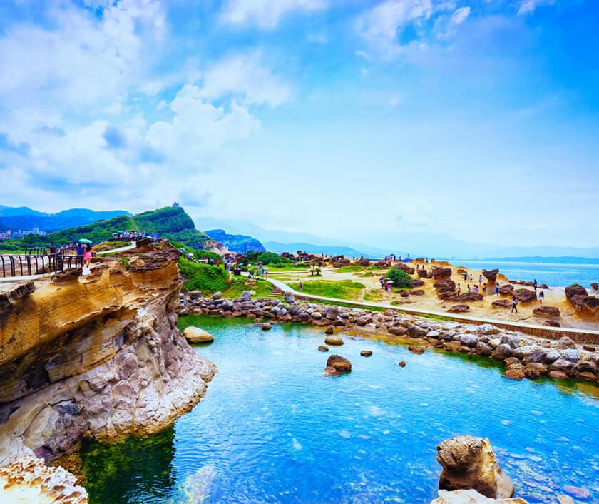 台湾の絶景を!北部エリア周遊ツアー