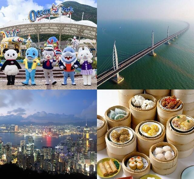 WBFオリジナル:香港&マカオ欲張りプラン4日間♪