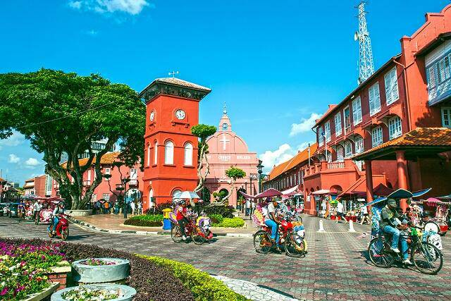 【7-10月/マラッカ滞在プラン】直行便マレーシア航空で行くクアラルンプール&マラッカ2都市周遊ツアー!観光付き♪