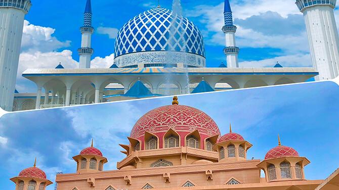 マレーシアで感動異世界体験!人気のモスクを巡ってみよう♪