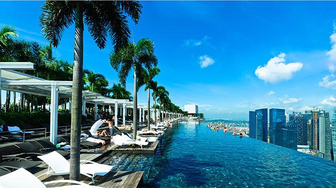 【宿泊体験記】シンガポール人気NO.1!「マリーナベイサンズ」に泊まってきました!