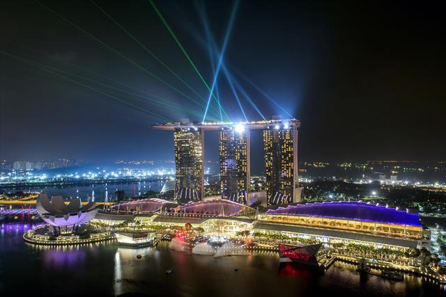 \マリーナベイビュー指定プラン♪/ シンガポールを代表するマリーナビューを贅沢に一望できるお部屋のみをピックアップしました!