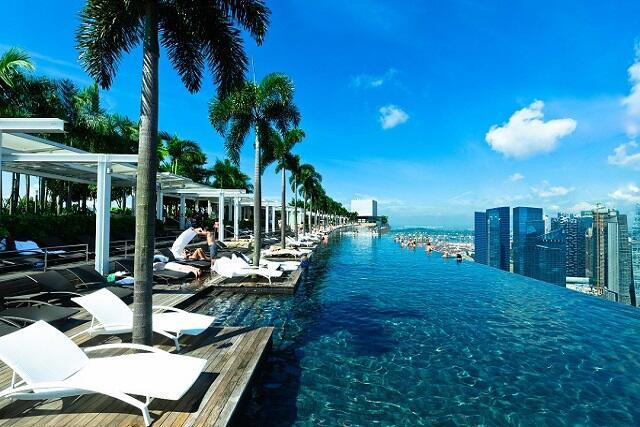 シンガポールの人気NO1ホテル「マリーナベイサンズ」×5つ星航空会社シンガポール航空利用 人気鉄板ツアーはこちら♪