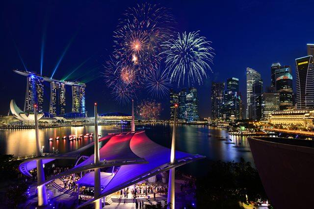 \マリーナベイビュー指定プラン♪/ シンガポールを代表するマリーナビューを贅沢に一望できるお部屋のみをピックアップでご案内!