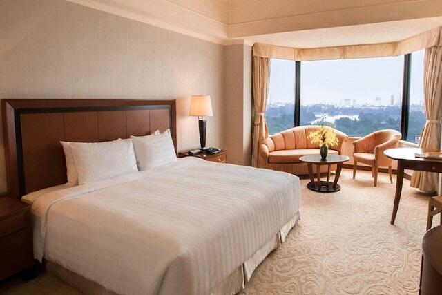 \最終日は18:00まで客室利用が可能/5つ星・ホテル・ドゥ・パルクハノイに泊まるハノイ夏旅セール
