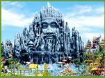 【成田発・ホーチミン旅行】奇抜な遊園地「スイティエン公園」のオプション付♪