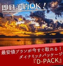 【D-PACK】航空券+ホテルで自由に組み合わせ!