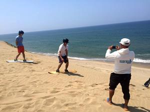 鳥取 鳥取砂丘サンドボート体験